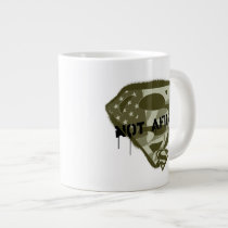 Superman S-Shield | Not Afraid - US Camo Logo Giant Coffee Mug