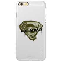 Superman S-Shield | Not Afraid - US Camo Logo Incipio Feather Shine iPhone 6 Plus Case