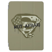 Superman S-Shield | Not Afraid - US Camo Logo iPad Air Cover