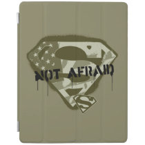 Superman S-Shield | Not Afraid - US Camo Logo iPad Smart Cover