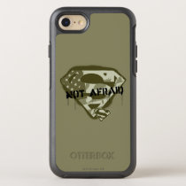 Superman S-Shield | Not Afraid - US Camo Logo OtterBox Symmetry iPhone SE/8/7 Case