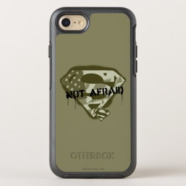 Superman S-Shield | Not Afraid - US Camo Logo OtterBox Symmetry iPhone 8/7 Case