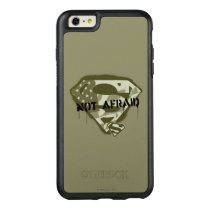 Superman S-Shield | Not Afraid - US Camo Logo OtterBox iPhone 6/6s Plus Case