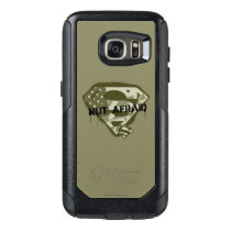Superman S-Shield   Not Afraid - US Camo Logo OtterBox Samsung Galaxy S7 Case