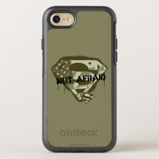 Superman S-Shield   Not Afraid - US Camo Logo OtterBox Symmetry iPhone 8/7 Case