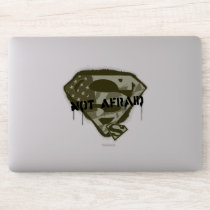 Superman S-Shield | Not Afraid - US Camo Logo Sticker