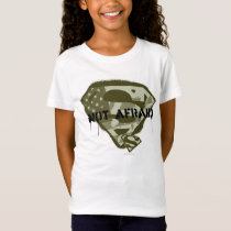 Superman S-Shield | Not Afraid - US Camo Logo T-Shirt