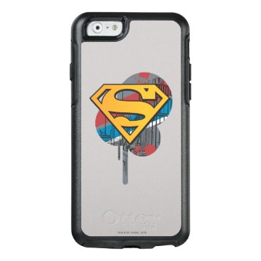Superman S-Shield | Orange with Paint OtterBox iPhone 6/6s Case