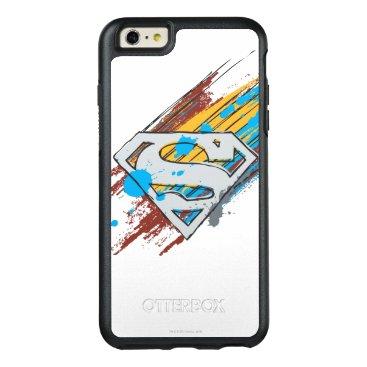 Superman S-Shield | Paint Streaks Logo OtterBox iPhone 6/6s Plus Case