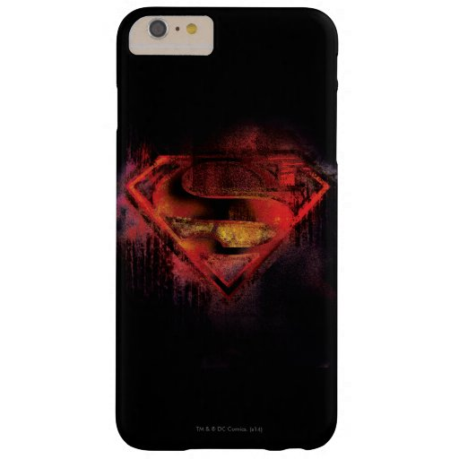Superman S-Shield | Painted Logo Barely There iPhone 6 Plus Case