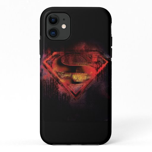 Superman S-Shield | Painted Logo iPhone 11 Case