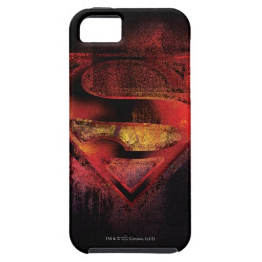 Superman S-Shield | Painted Logo iPhone SE/5/5s Case
