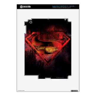 Superman S-Shield | Painted Logo Skin For iPad 3