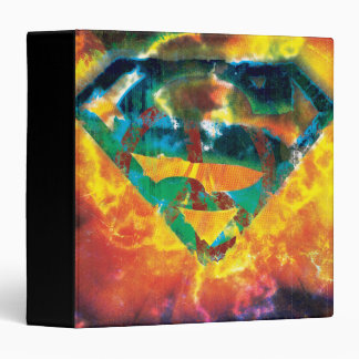 Superman S-Shield | Peace Stamped Logo Binder