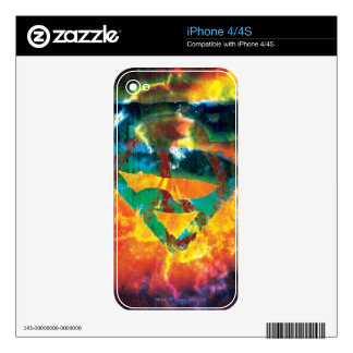 Superman S-Shield | Peace Stamped Logo iPhone 4S Decal