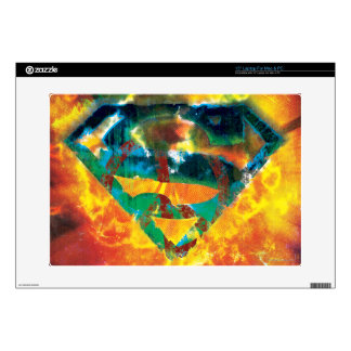Superman S-Shield | Peace Stamped Logo Laptop Skins