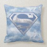 Superman S-Shield Pillow