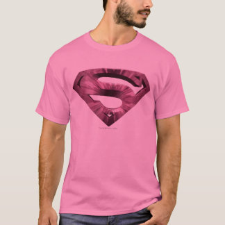 Superman S-Shield | Pink Star Burst Logo T-Shirt