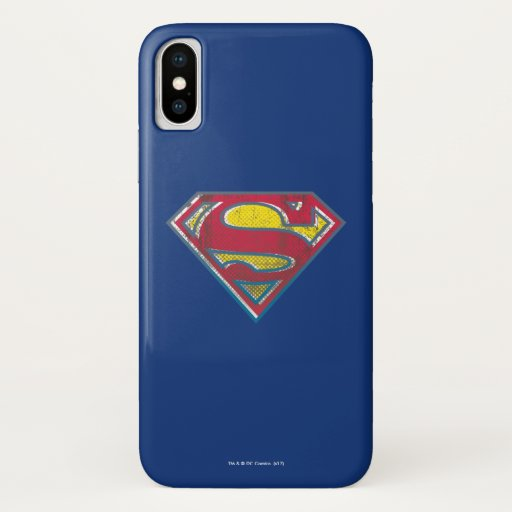 Superman S-Shield | Printed Logo iPhone X Case