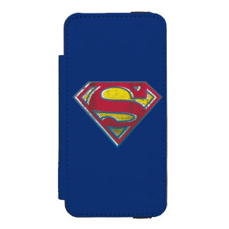 Superman S-Shield | Printed Logo iPhone SE/5/5s Wallet Case