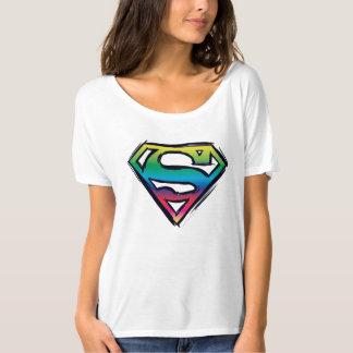 Superman S-Shield | Rainbow Logo T-Shirt
