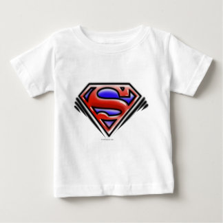 Superman S-Shield   Red Airbrush Logo T-shirt