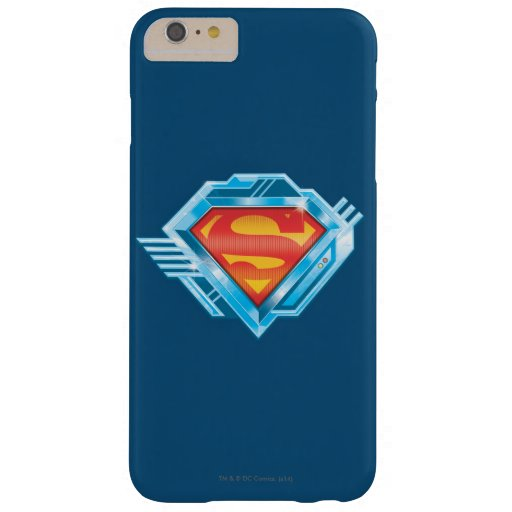 Superman S-Shield | Red and Blue Metal Logo Barely There iPhone 6 Plus Case