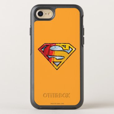 Superman S-Shield | Red and Orange Logo OtterBox Symmetry iPhone 8/7 Case