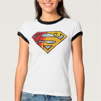 Superman S-Shield   Red and Orange Logo T-Shirt