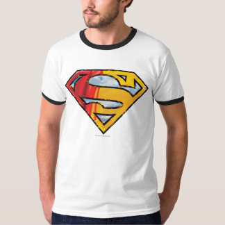 Superman S-Shield | Red and Orange Logo T-Shirt