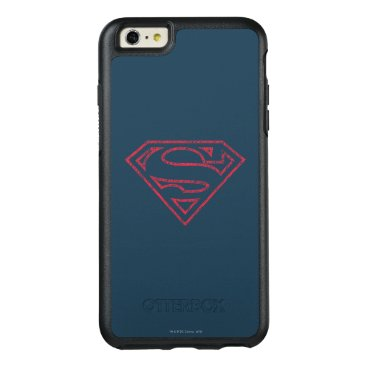 Superman S-Shield | Red Outline Logo OtterBox iPhone 6/6s Plus Case