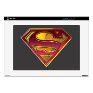 "Superman S-Shield | Reflection Logo Decals For 15"" Laptops"