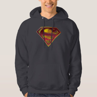 Superman S-Shield | Reflection Logo Hoodie