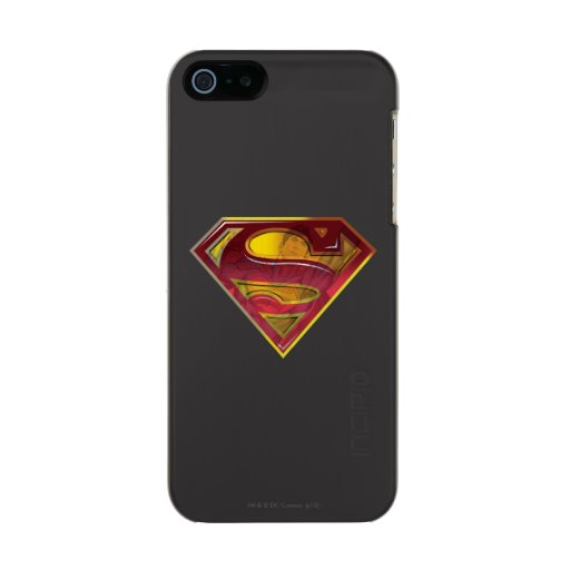 Superman S-Shield | Reflection Logo Metallic Phone Case For iPhone SE/5/5s