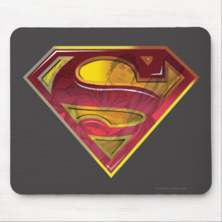 Superman S-Shield | Reflection Logo Mouse Pad