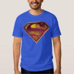 Superman S-Shield   Reflection Logo T Shirt
