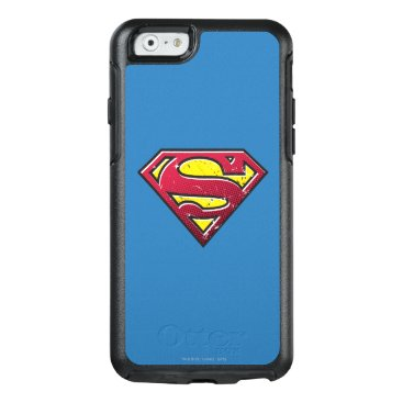 Superman S-Shield   Scratches Logo OtterBox iPhone 6/6s Case