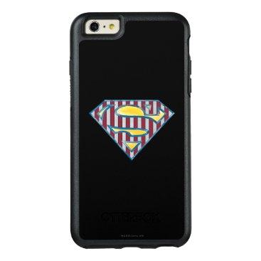 Superman S-Shield | Striped Logo OtterBox iPhone 6/6s Plus Case