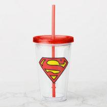 Superman S-Shield | Superman Logo Acrylic Tumbler