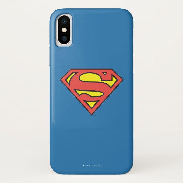 Superman S Shield Superman Logo Case Mate Iphone Case Zazzle Com