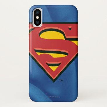 Superman S-Shield | Superman Logo iPhone X Case