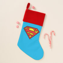 Superman S-Shield | Superman Logo Christmas Stocking