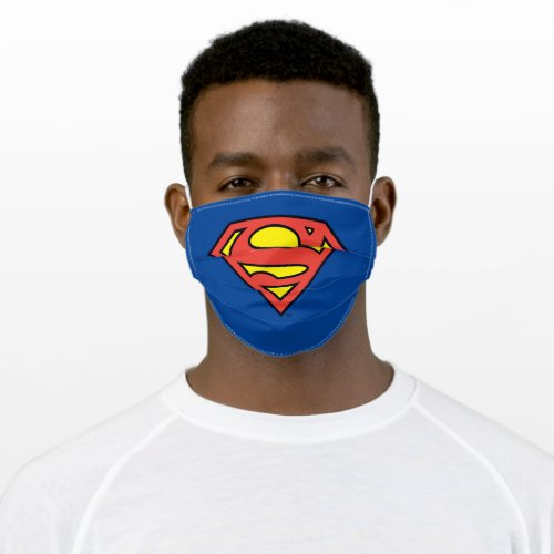 Superman S_Shield  Superman Logo Cloth Face Cover