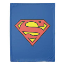 Superman S-Shield | Superman Logo Duvet Cover