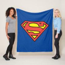 Superman S-Shield | Superman Logo Fleece Blanket