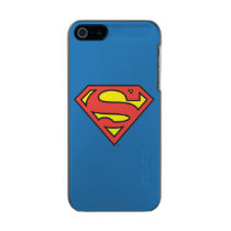 Superman S-Shield | Superman Logo Metallic Phone Case For iPhone SE/5/5s