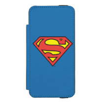 Superman S-Shield | Superman Logo Wallet Case For iPhone SE/5/5s