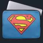 "Superman S-Shield | Superman Logo Laptop Sleeve<br><div class=""desc"">DC Originals - DC Comics | Classic red and yellow Superman logo.</div>"