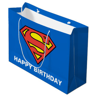 Superman S-Shield | Superman Logo Large Gift Bag