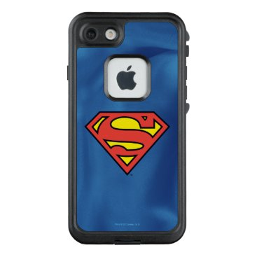 USA Themed Superman S-Shield | Superman Logo LifeProof FRĒ iPhone 7 Case